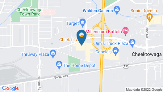 Hampton Inn Buffalo-Airport / Galleria Mall Map