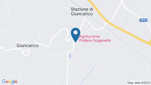 Podere Doganelle Map