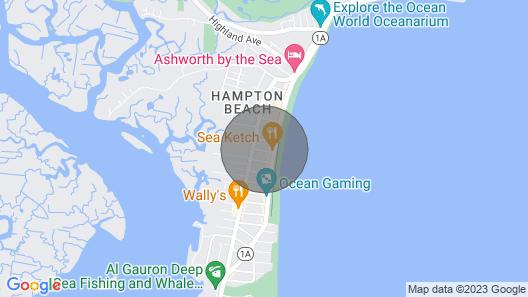 ?surfers Paradise Sleeps 6 Heart of Hampton Beach!? Map
