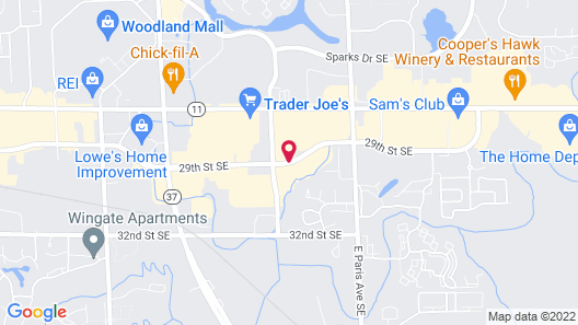 Extended Stay America Grand Rapids - Kentwood Map