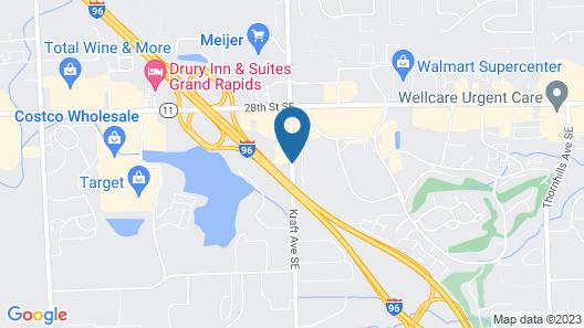 Econo Lodge & Suites Map
