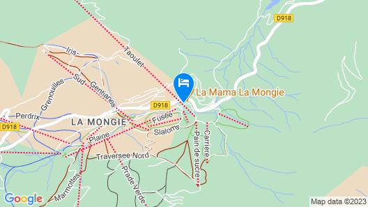 Résidence Tourmalet Map