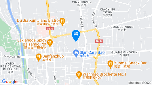 IBIS Yanji Renmin Road  Hotel Map