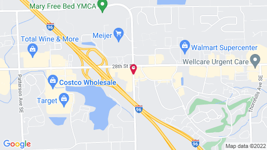 Baymont by Wyndham Grand Rapids Airport Map