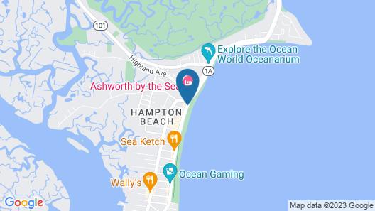 Ocean Front Surf Condominium Map