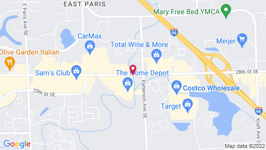 Courtyard by Marriott Grand Rapids Airport Map