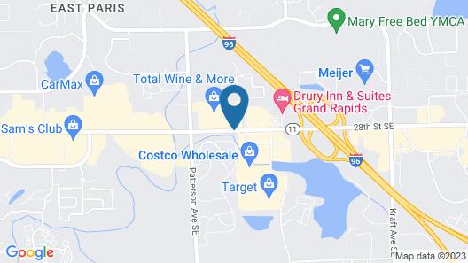 Clarion Inn & Suites Airport Map