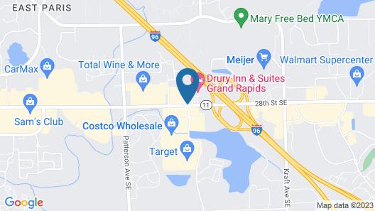 Drury Inn & Suites Grand Rapids Map