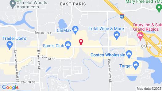 Wyndham Garden Grand Rapids Airport Map