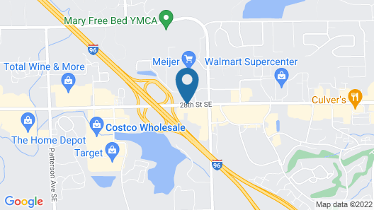 Best Western Hospitality Hotel & Suites Map