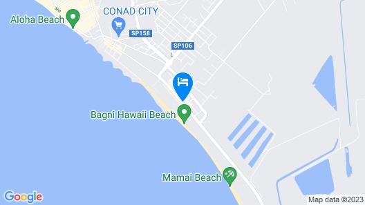 Hotel La Pineta Map