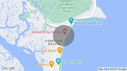 Slice Of Paradise At Hampton Beach, NH Map