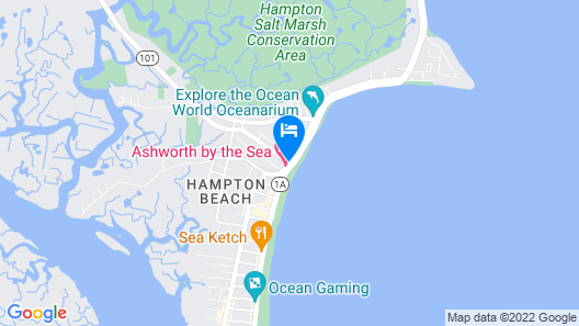 Ashworth by the Sea Map