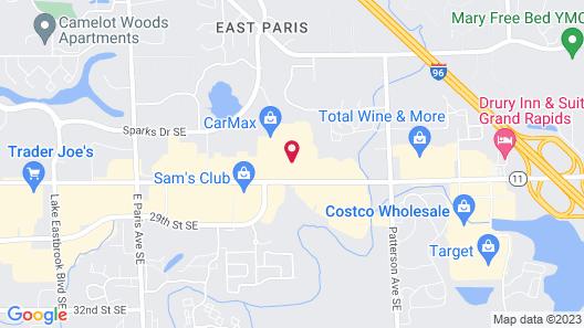 Residence Inn by Marriott Grand Rapids Airport Map