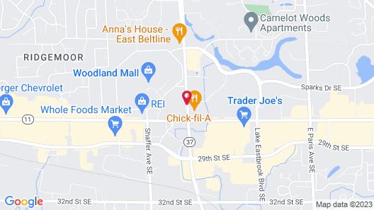 Hawthorn Suites by Wyndham Grand Rapids, MI Map
