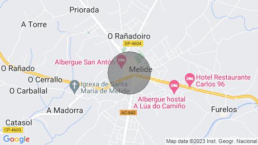 Apartment O Lagar 1 Map