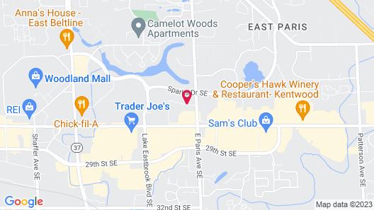 Fairfield Inn & Suites Grand Rapids Map
