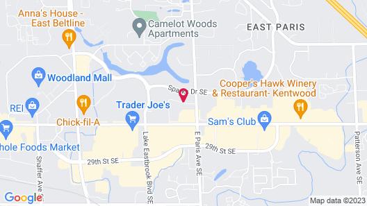 Homewood Suites by Hilton Grand Rapids Map