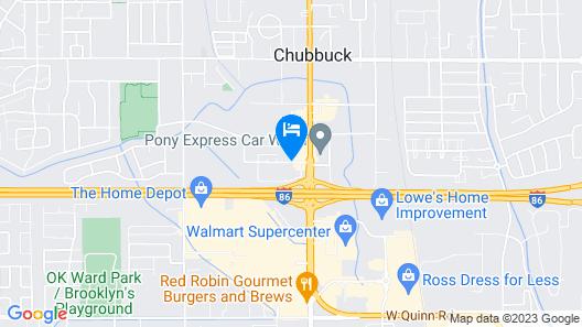 Travelodge by Wyndham Pocatello Map