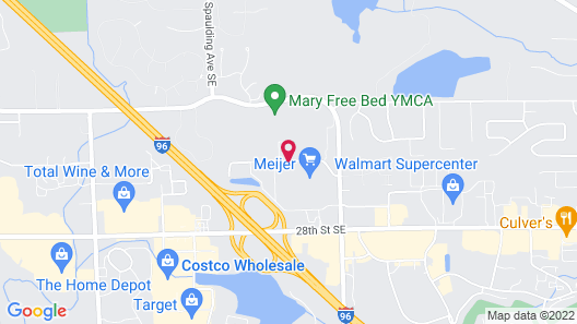 TownePlace Suites by Marriott Grand Rapids Airport Map