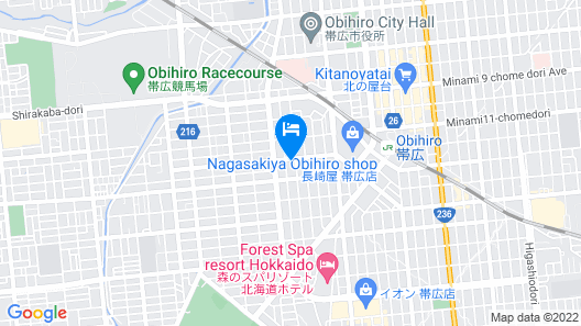 Hotel Sulata Obihiro Adult Only Map