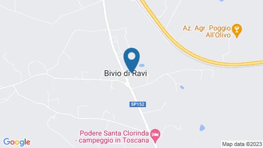 Agriturismo Casetta Map