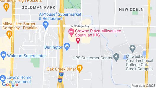 Econo Lodge Milwaukee Airport Map