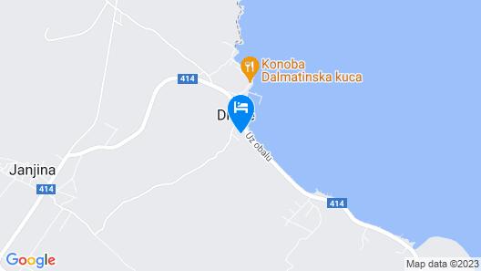 Villa Dalmatinka Map