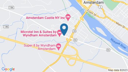 Knights Inn Amsterdam Map