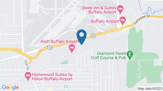 Fairfield Inn & Suites by Marriott Buffalo Airport Map