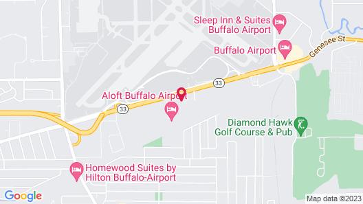 Courtyard Buffalo Airport Map