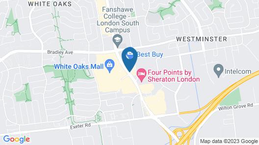 Days Inn by Wyndham London Map