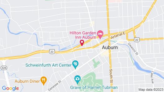 Auburn Inn Map