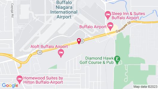 Days Hotel by Wyndham Buffalo Airport Map