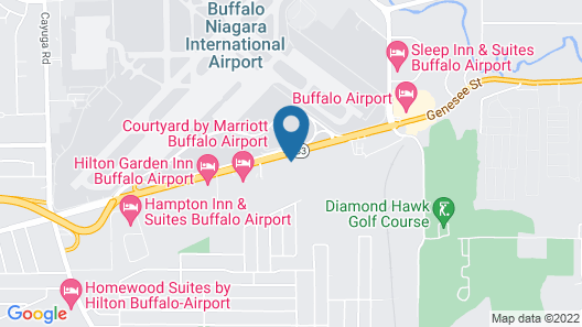 Days Hotel by Wyndham Buffalo Airport Map