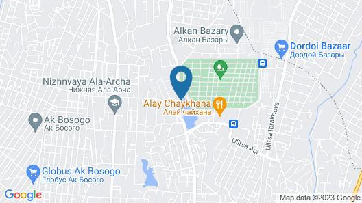 Sultan Bishkek Map