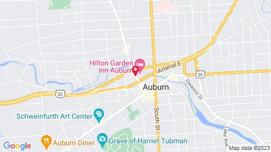 Hilton Garden Inn Auburn Map