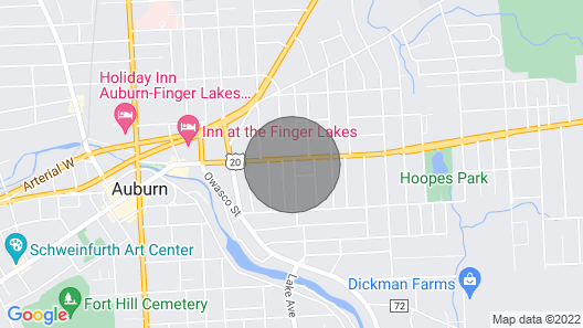 Apt. Clean, Comfy, Close to Downtown Map