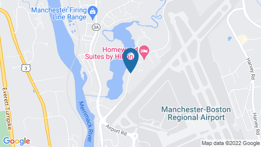 Homewood Suites by Hilton Manchester/Airport Map