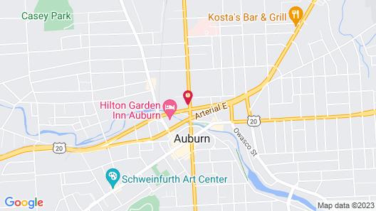 Holiday Inn Auburn-Finger Lakes Region, an IHG Hotel Map