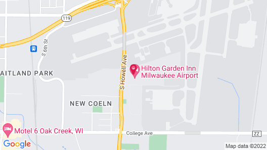 Home2 Suites by Hilton Milwaukee Airport Map