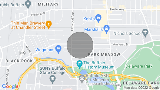 Upper Unit Located Near Buffalo State College Map