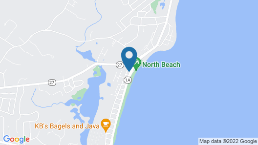 Ocean Side Studio Apartment! Can't get any Closer to the Beach! Map