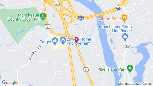 Country Inn & Suites by Radisson, Manchester Airport, NH Map