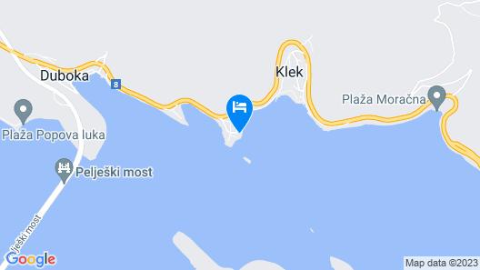Apartments Mara - Klek Map