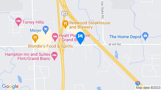 Residence Inn By Marriott Flint Map