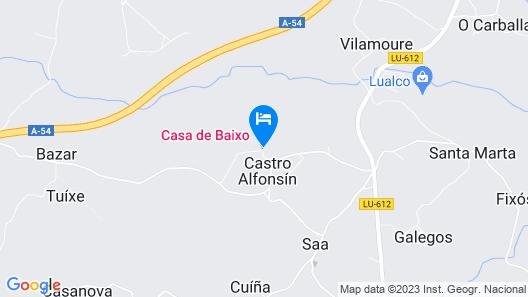 Casa de Baixo Map