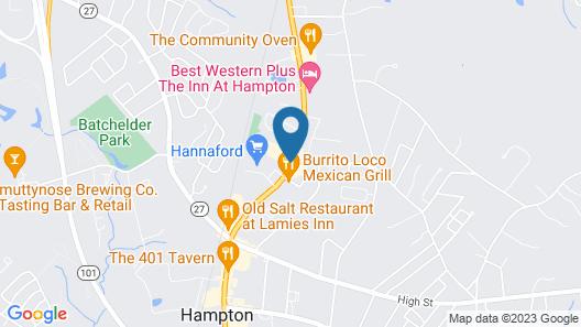 Hampton Village Inn Map