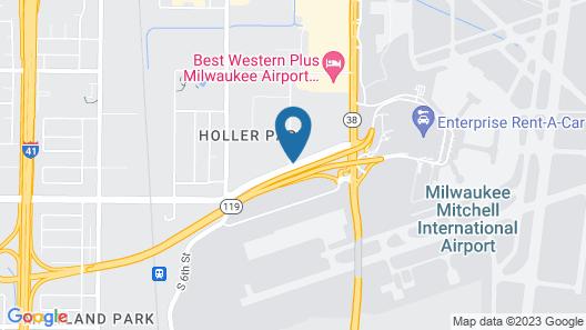 Hyatt Place Milwaukee Airport Map