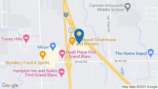 Courtyard Flint by Marriott Map